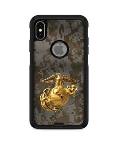 Yellow Marine Earth Eagle Otterbox Commuter iPhone Skin
