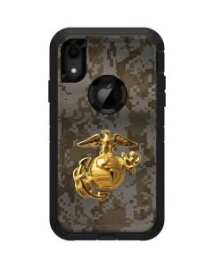 Yellow Marine Earth Eagle Otterbox Defender iPhone Skin
