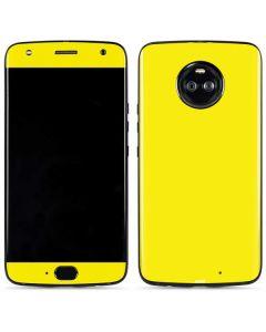 Yellow Moto X4 Skin