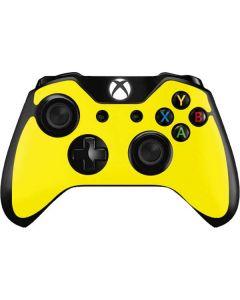 Yellow Xbox One Controller Skin