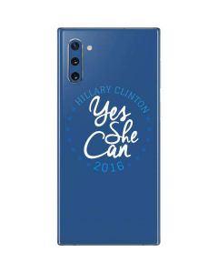 Yes She Can Hillary 2016 Galaxy Note 10 Skin