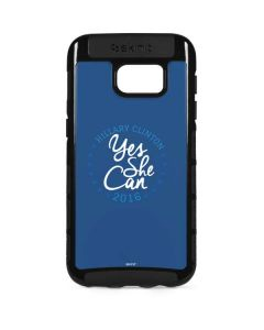 Yes She Can Hillary 2016 Galaxy S7 Edge Cargo Case