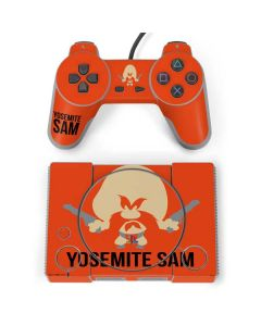 Yosemite Sam Identity PlayStation Classic Bundle Skin