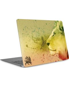 Profile of the Lion of Judah Apple MacBook Air Skin