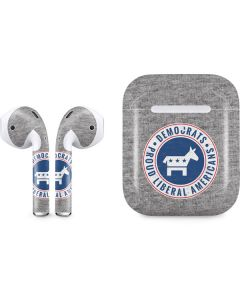 Proud Liberal Americans Apple AirPods 2 Skin