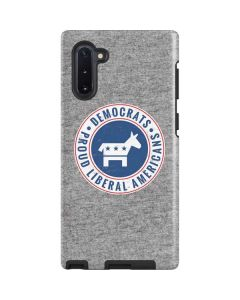 Proud Liberal Americans Galaxy Note 10 Pro Case