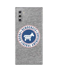 Proud Liberal Americans Galaxy Note 10 Skin