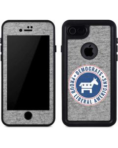 Proud Liberal Americans iPhone SE Waterproof Case