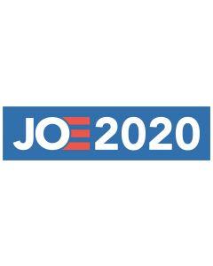 "Joe 2020 11"" x 3"" Bumper Sticker"