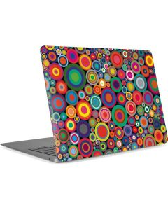 Psychedelic Circles Apple MacBook Air Skin