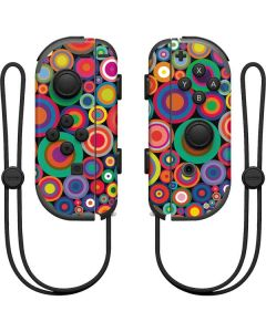 Psychedelic Circles Nintendo Joy-Con (L/R) Controller Skin