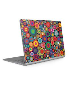 Psychedelic Circles Surface Book 2 15in Skin