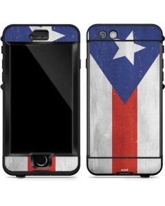Puerto Rico Flag Distressed LifeProof Nuud iPhone Skin