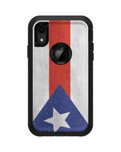 Puerto Rico Flag Distressed Otterbox Defender iPhone Skin