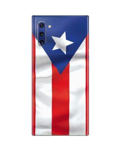 Puerto Rico Flag Galaxy Note 10 Skin