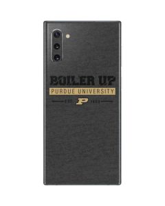 Purdue University Boiler Up Galaxy Note 10 Skin