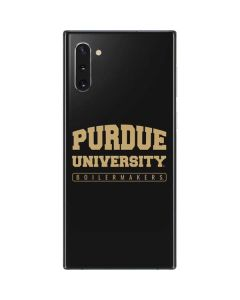 Purdue University Boilermakers Bold Galaxy Note 10 Skin