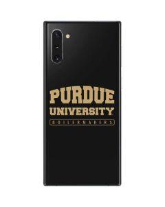 Purdue University Boilermakers Bold Galaxy Note 10 Skin