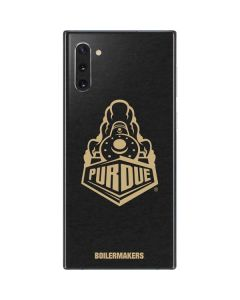 Purdue University Signature Logo Galaxy Note 10 Skin