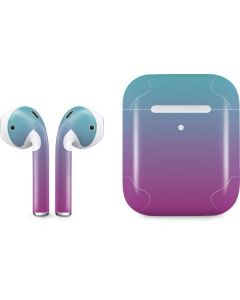Purple and Blue Ombre Apple AirPods 2 Skin