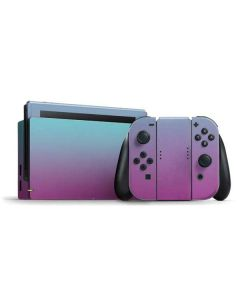 Purple and Blue Ombre Nintendo Switch Bundle Skin
