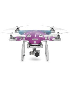 Purple and Blue Ombre DJI Phantom 3 Skin