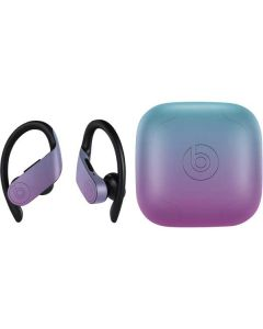 Purple and Blue Ombre PowerBeats Pro Skin