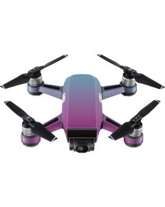 Purple and Blue Ombre DJI Spark Skin
