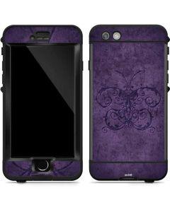 Purple Damask Butterfly LifeProof Nuud iPhone Skin
