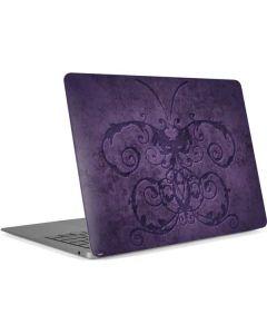 Purple Damask Butterfly Apple MacBook Air Skin