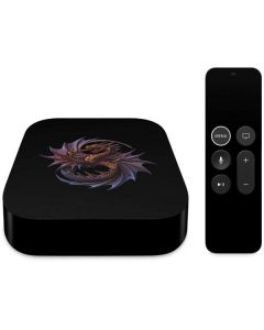 Purple Dragon Apple TV Skin