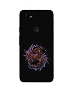 Purple Dragon Google Pixel 3a Skin