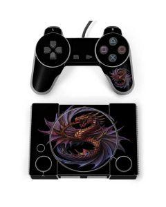 Purple Dragon PlayStation Classic Bundle Skin