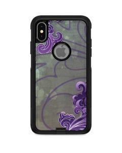 Purple Flourish Otterbox Commuter iPhone Skin