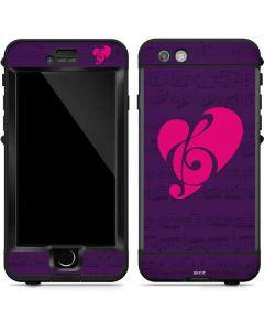 Purple Musical Notes LifeProof Nuud iPhone Skin