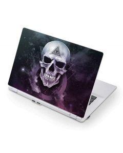 Purple Skull Acer Chromebook Skin