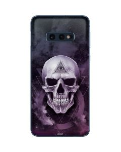 Purple Skull Galaxy S10e Skin