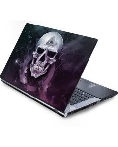 Purple Skull Generic Laptop Skin