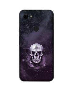 Purple Skull Google Pixel 3a Skin
