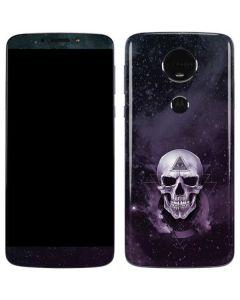 Purple Skull Moto E5 Plus Skin