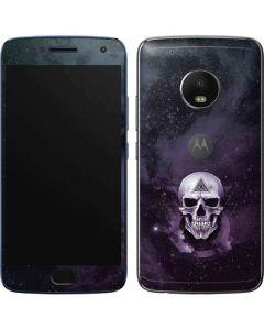 Purple Skull Moto G5 Plus Skin