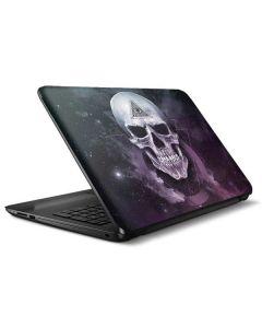 Purple Skull HP Notebook Skin