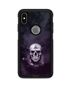 Purple Skull Otterbox Commuter iPhone Skin