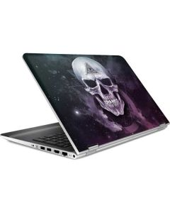 Purple Skull HP Pavilion Skin