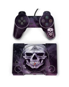 Purple Skull PlayStation Classic Bundle Skin