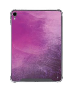 Purple Space Marble iPad Pro 11in (2018-19) Clear Case