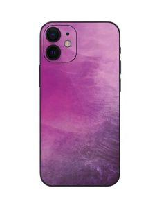 Purple Space Marble iPhone 12 Mini Skin