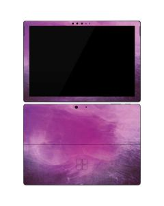 Purple Space Marble Surface Pro 7 Skin