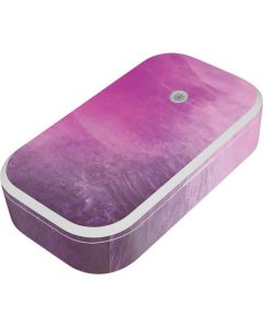 Purple Space Marble UV Phone Sanitizer and Wireless Charger Skin
