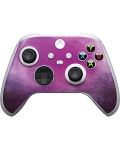 Purple Space Marble Xbox Series S Controller Skin